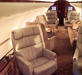 Private Jet Photo Bombardier Global Express XRS interior