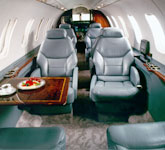 Private Jet Photo Bombardier Learjet 45 interior