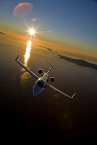 Lear 45 private jet