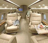 Private Jet Photo Bombardier Challenger 601-1A interior