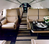 Private Jet Photo Bombardier Challenger 850CS interior