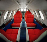 Private Jet Photo Cessna Citation I interior