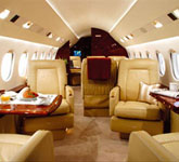 Private Jet Photo Dassault Falcon 900DX interior