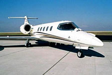 Private Jet Photo Gates Learjet 36A exterior