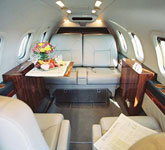 Private Jet Photo Gates Learjet 36A interior