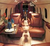 Private Jet Photo Gulfstream 100 interior