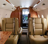 Private Jet Photo Gulfstream 150 interior