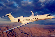 Private Jet Photo Gulfstream GV exterior